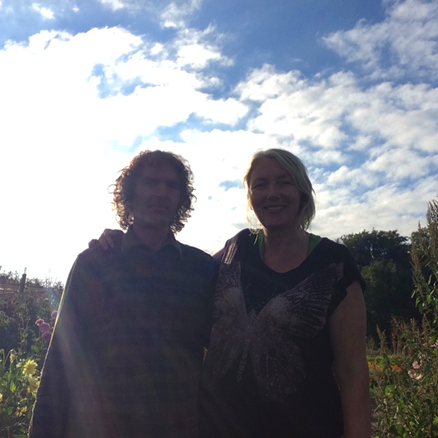 Mandy Barber & Julien Skinner - growing and selling perennial vegetable plants and seeds on the edge of Dartmoor